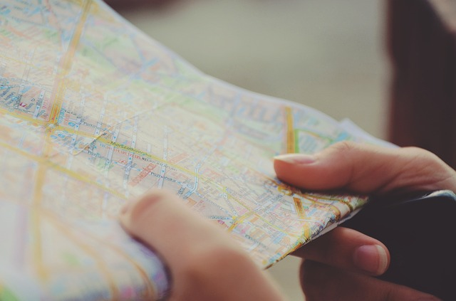 Travel maps and gadgets for safer travel