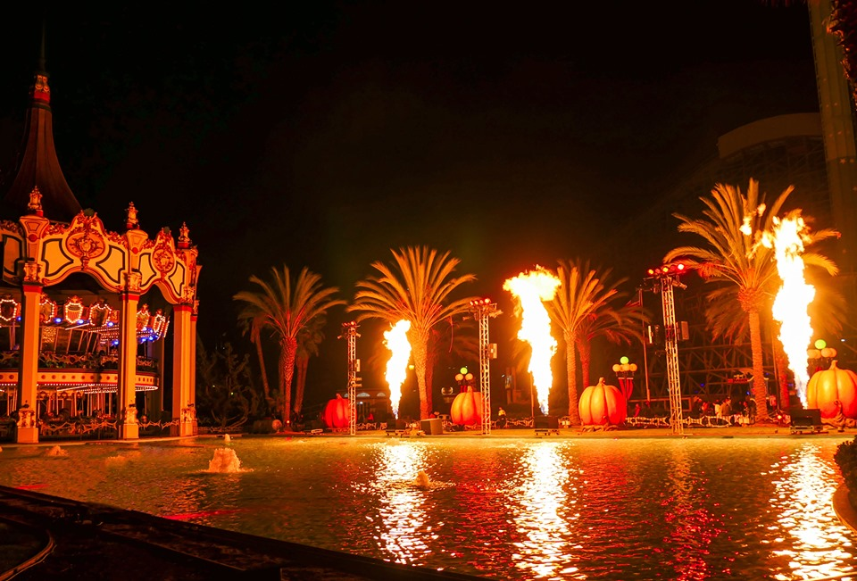 A fun family holiday at the California Great America Park