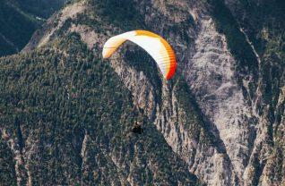 Paragliding Baptism In Chamonix