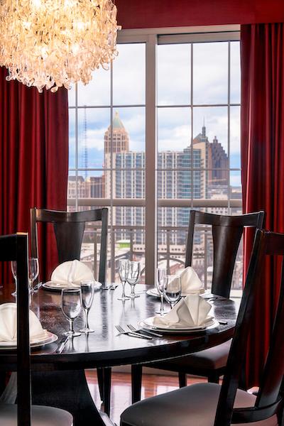 Georgian Terrace Atlanta hotels with balcony