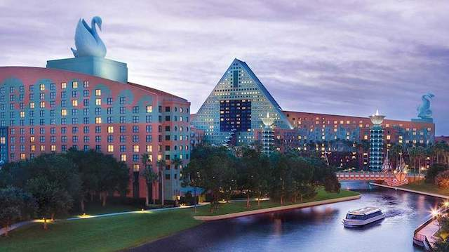 swan and dolphin hotels near disney world with shuttle