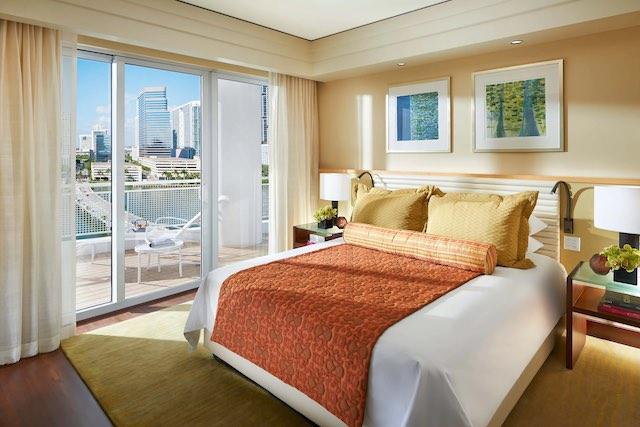 Mandarin Oriental miami hotels with balcony
