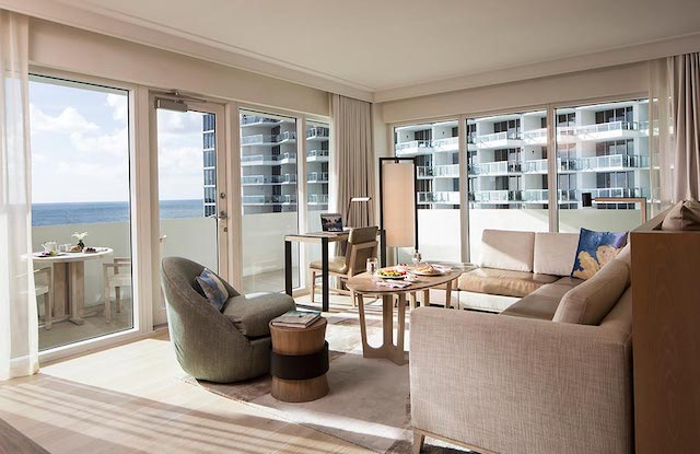 Nobu Miami hotels with balcony