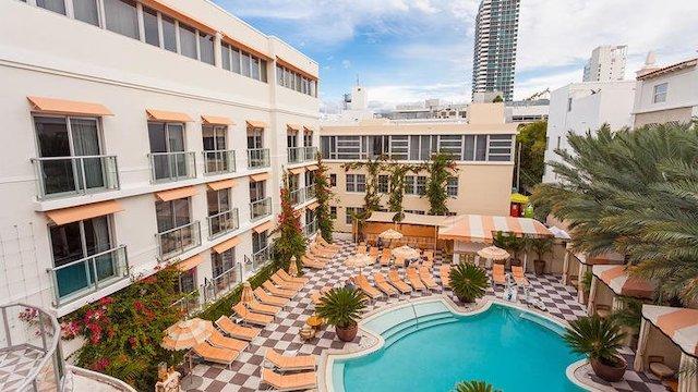 Plymouth miami hotels with balcony